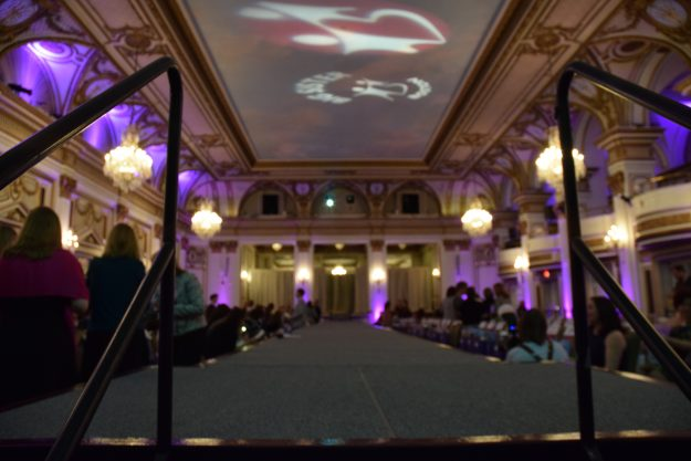 Runway prepared to welcome models. Taken by Temi Adeleye.
